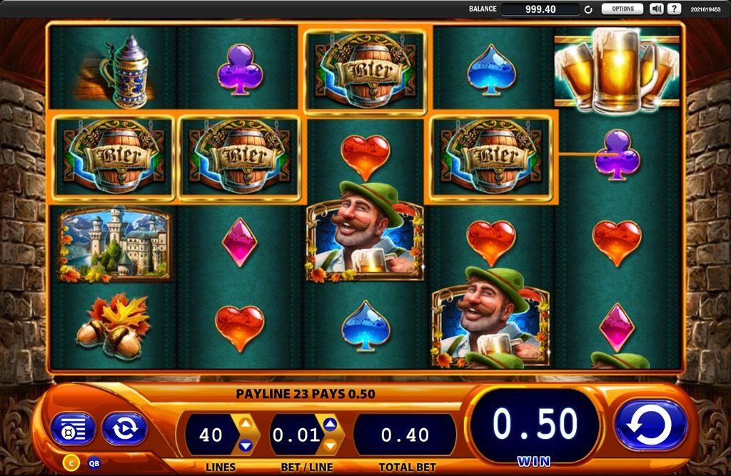 Bier Haus Slot Machine App