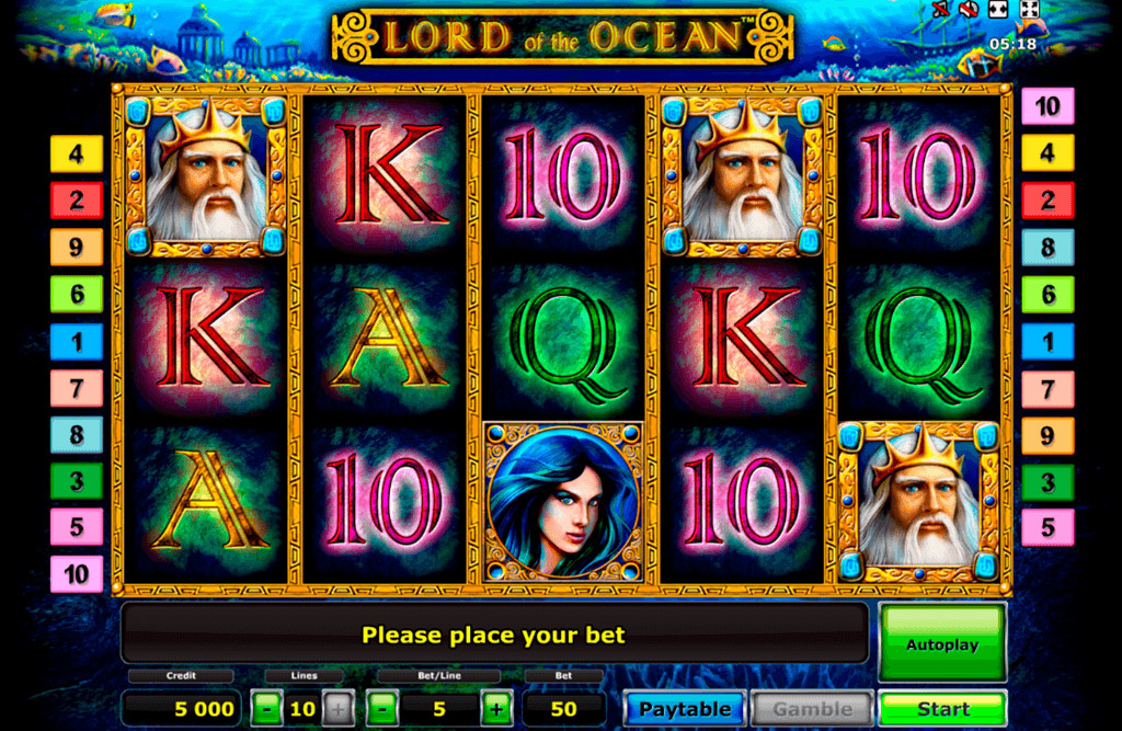 Casino Games Lord Of Ocean