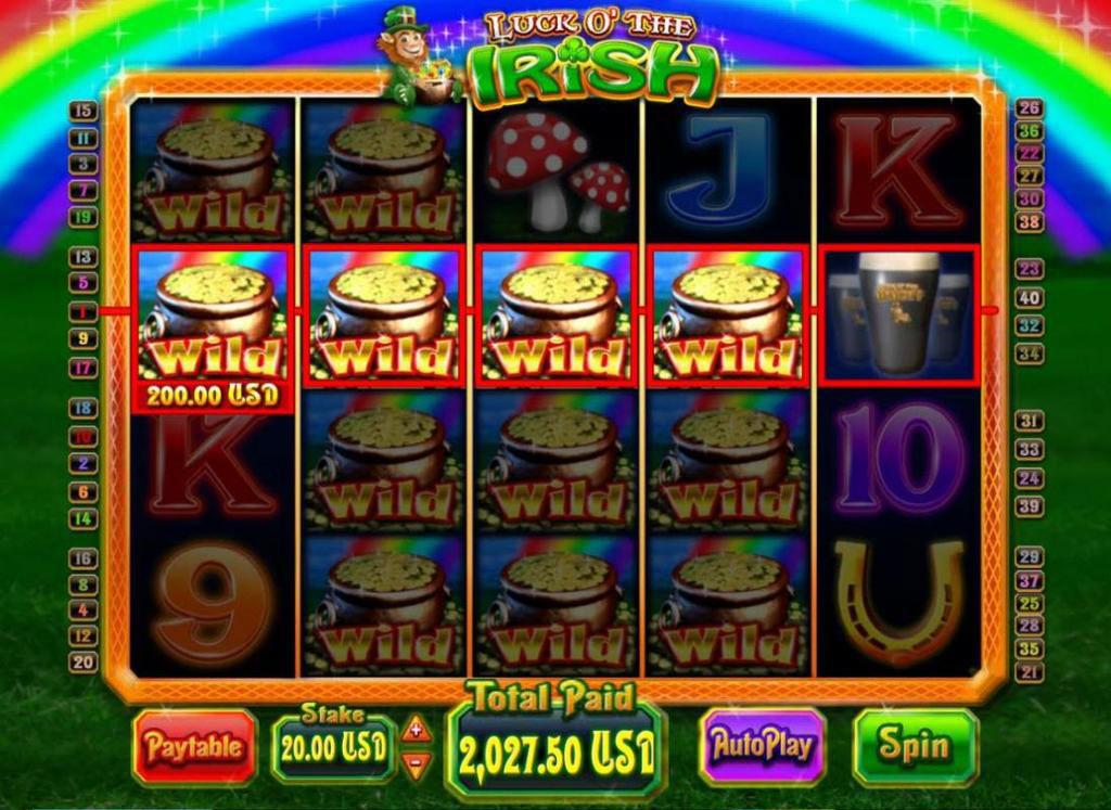 Play Irish Luck Slot Online